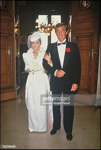 JeanPaul Belmondo at his daughter Patricia's wedding in 1986