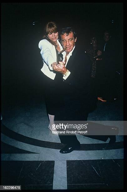 JeanPaul Belmondo dancing at his daughter Patricia's wedding in 1986