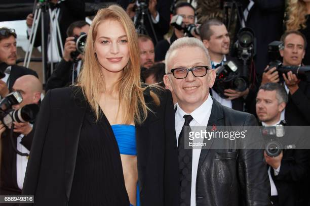 JeanPaul Gaultier and Vanessa Axente attend the 'The Killing Of A Sacred Deer' screening during the 70th annual Cannes Film Festival at Palais des...