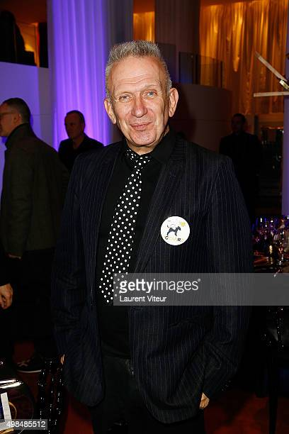 JeanPaul Gaultier attends 20th edition of ' Les Sapins de Noel des Createurs' Designer's Christmas Trees Auction to benefit Avec Foundation at...