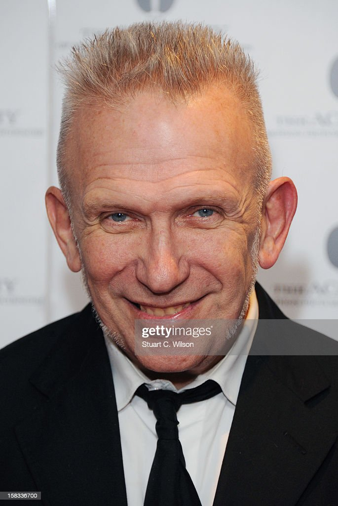 Jean-Paul Gaultier attends as The Academy of Motion Picture Arts and Sciences honours director Pedro Almodovar at Curzon Soho on December 13, 2012 in London, England.