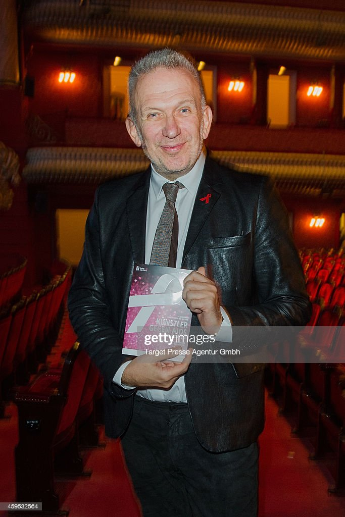 Jean-Paul Gaultier attends the Artists Against Aids Gala 2014 (Kuenstler gegen Aids Gala 2014) at Theater des Westens on November 24, 2014 in Berlin, Germany.