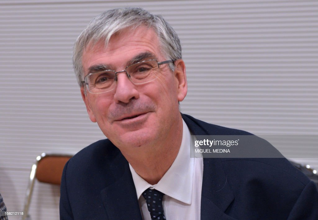 Jean-Paul Herteman, CEO of Safran sits at the French national assembly on December 11, 2012 in Paris