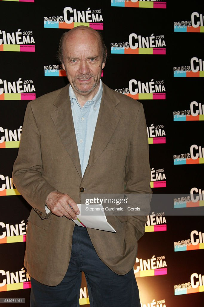 Jean-Paul Rappeneau attends the Paris Film Festival premiere of the movie 'L'Avion.'