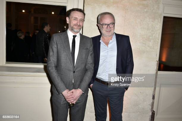 JeanPaul Rouve and Olivier Baroux attend the 'Trophees Du Film Francais' 24th Ceremony at Palais Brongniart on February 2 2017 in Paris France