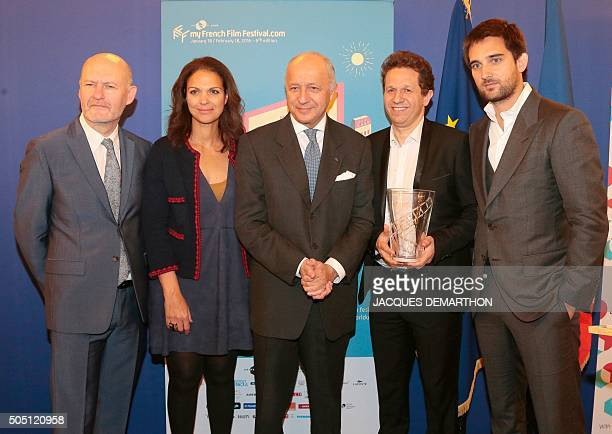 JeanPaul Salome president of UniFrance organisation in charge of promoting the French cinema abroad Isabelle Giordano UniFrance General Director...