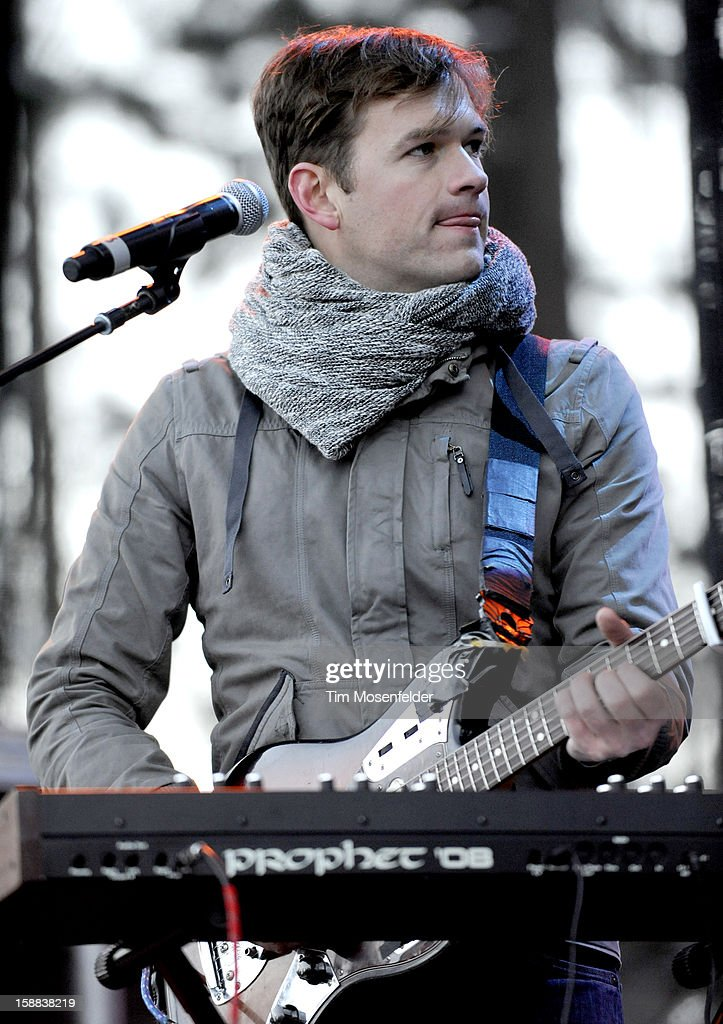 Jean-Philip Grobler of St. Lucia performs during the Snowglobe Music Festival at Lake Tahoe Community College on December 30, 2012 in South Lake Tahoe, CA.