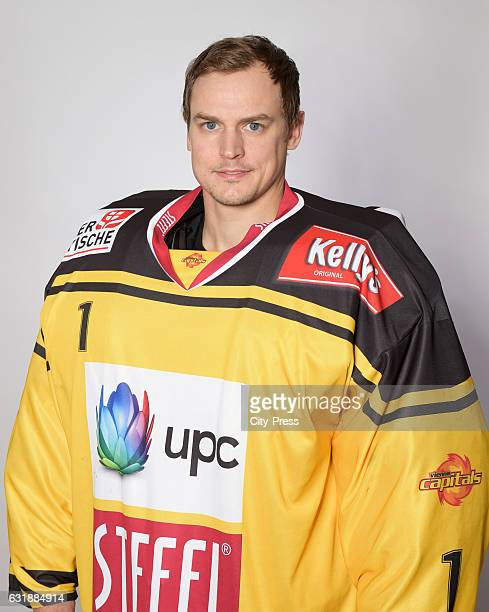 JeanPhilippe Lamoureux of the UPC Vienna Capitals during the action shot August 18 2016 in Vienna Austria