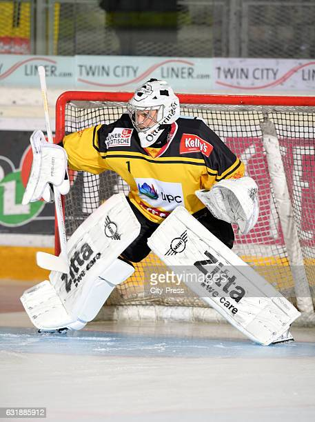 JeanPhilippe Lamoureux of the UPC Vienna Capitals during the action shot on October 2 2016 in Vienna Austria