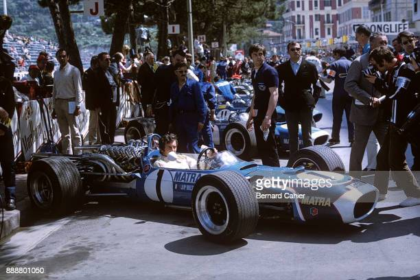 JeanPierre Beltoise Matra MS11 Grand Prix of Monaco Circuit de Monaco 26 May 1968 The 1968 Monaco Grand Prix saw the first appearance of the V12...
