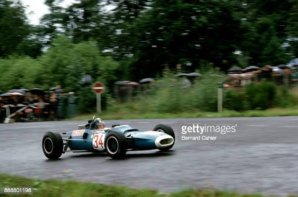 JeanPierre Beltoise MatraFord MS5 Grand Prix of Germany Nurburgring 07 August 1966 Formula 2 cars were allowed to race in the 1966 German Grand Prix...