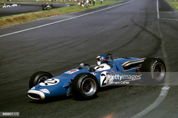 JeanPierre Beltoise MatraFord MS7 Grand Prix of Mexico Autodromo Hermanos Rodriguez Magdalena Mixhuca 22 October 1967 Formula 2 cars were allowed to...