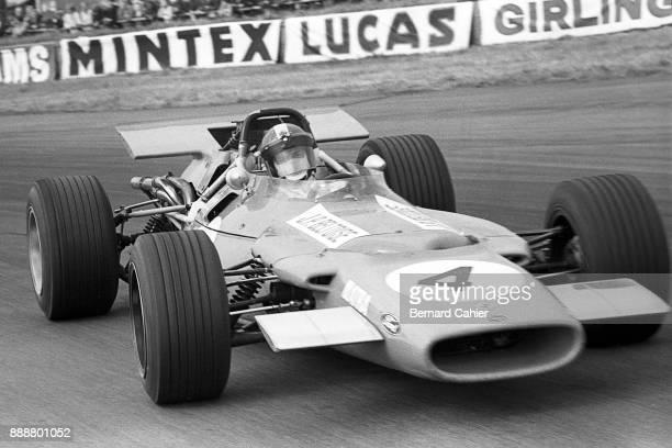 JeanPierre Beltoise MatraFord MS84 Grand Prix of Great Britain Silverstone Circuit 19 July 1969