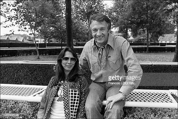 JeanPierre Cassel and wife Sabine in Deauville France on October 04th 1976
