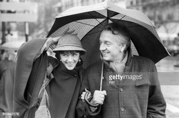 JeanPierre Cassel et Anny Duperey le 17 janvier 1983 à Paris France