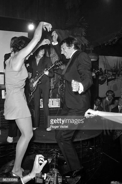 JeanPierre Cassel French comedian Paris Club SaintHilaire 1965 HA195341