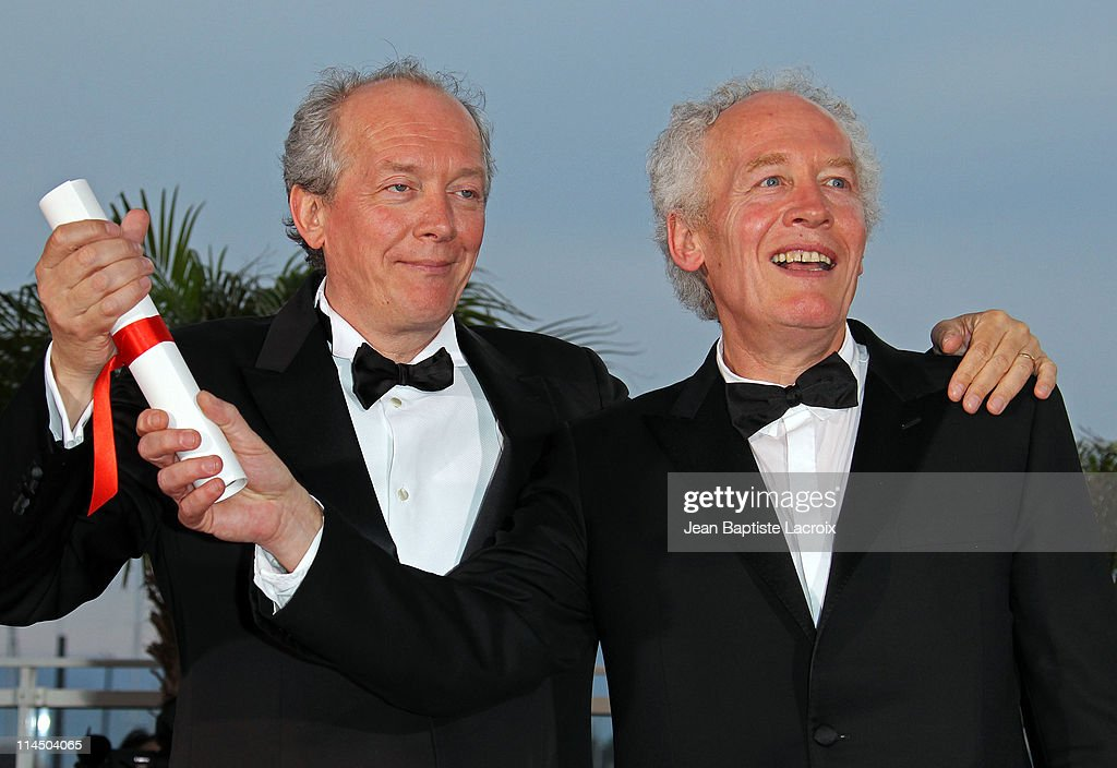 Jean-Pierre Dardenne and Luc Dardenne attend the Palme D'Or Winners Photocall at the 64th Annual Cannes Film Festival at Palais des Festivals on May 22, 2011 in Cannes, France.