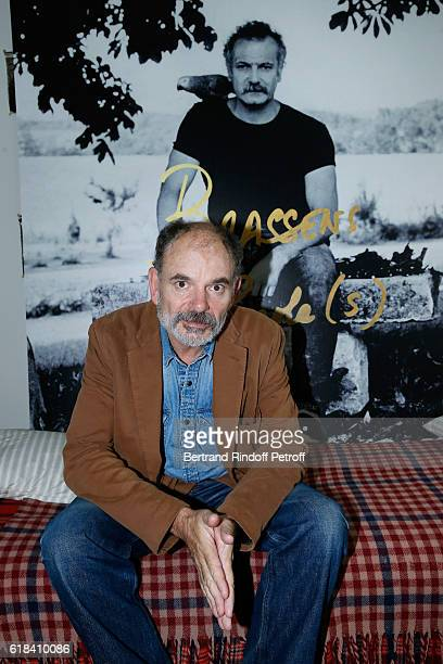 JeanPierre Darroussin attends the Brassens Behind the Scenes and Press Junket on October 17 2016 in Paris France