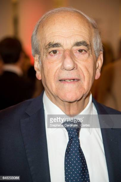 JeanPierre Elkabbach attends the Cesar Film Awards 2017 ceremony at Salle Pleyel on February 24 2017 in Paris France
