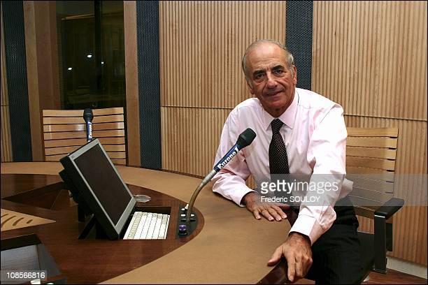 JeanPierre Elkabbach in Paris France on November 19th 2004