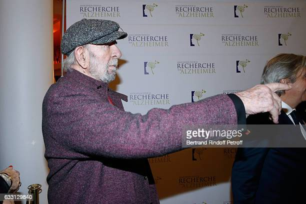 JeanPierre Marielle attends the Charity Gala against Alzheimer's disease at Salle Pleyel on January 30 2017 in Paris France