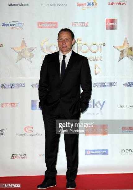 JeanPierre Papin attends the Golden Foot Award 2013 ceremony at MonteCarlo Bay Hotel on October 16 2013 in MonteCarlo Monaco