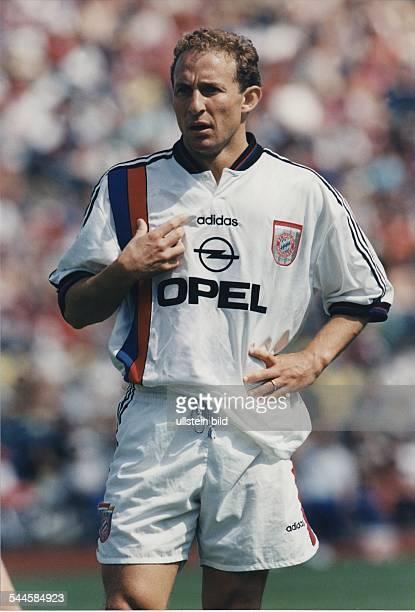 JeanPierre Papin Stürmer FC Bayern München Frankreich 1996