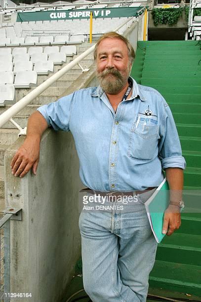 JeanPierre Pichard Interceltique Festival director In Lorient France On July 31 2004JeanPierre Pichard director of the Festival Interceltique in...