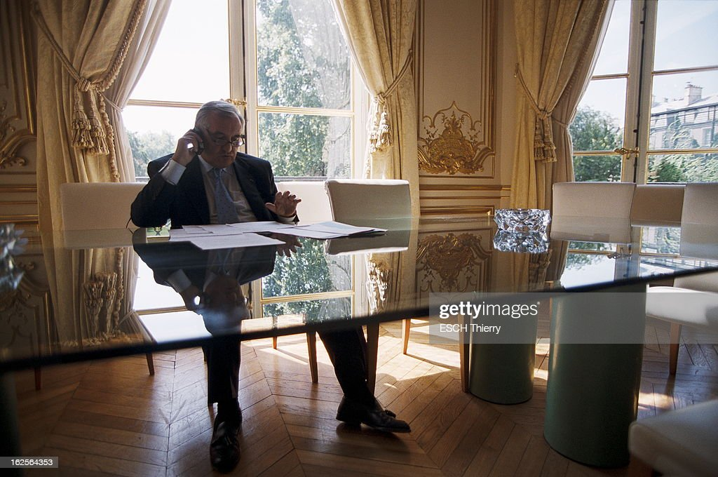 JeanPierre Raffarin And His Advisors At Matignon Pictures Getty