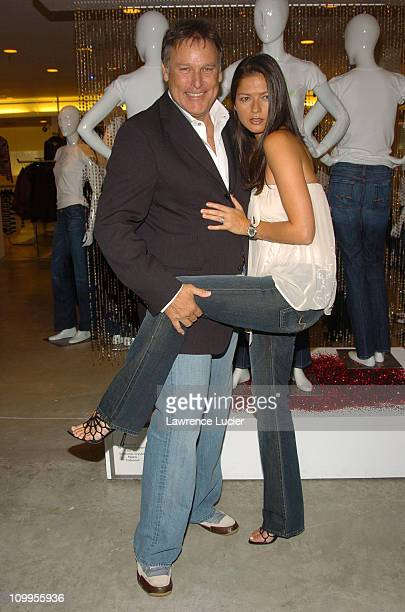 7 Jeans CEO Peter Koral and Jill Hennessy during Launch of 7 For All Mankind Holiday Edition Denim Jeans Featuring Swarovski Crystals at Barneys in...