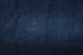 Jeans texture –close up. Denim fabrics background.