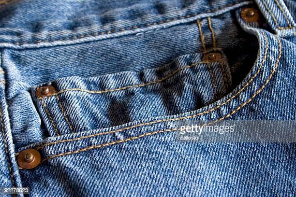 texture détaillée jeans