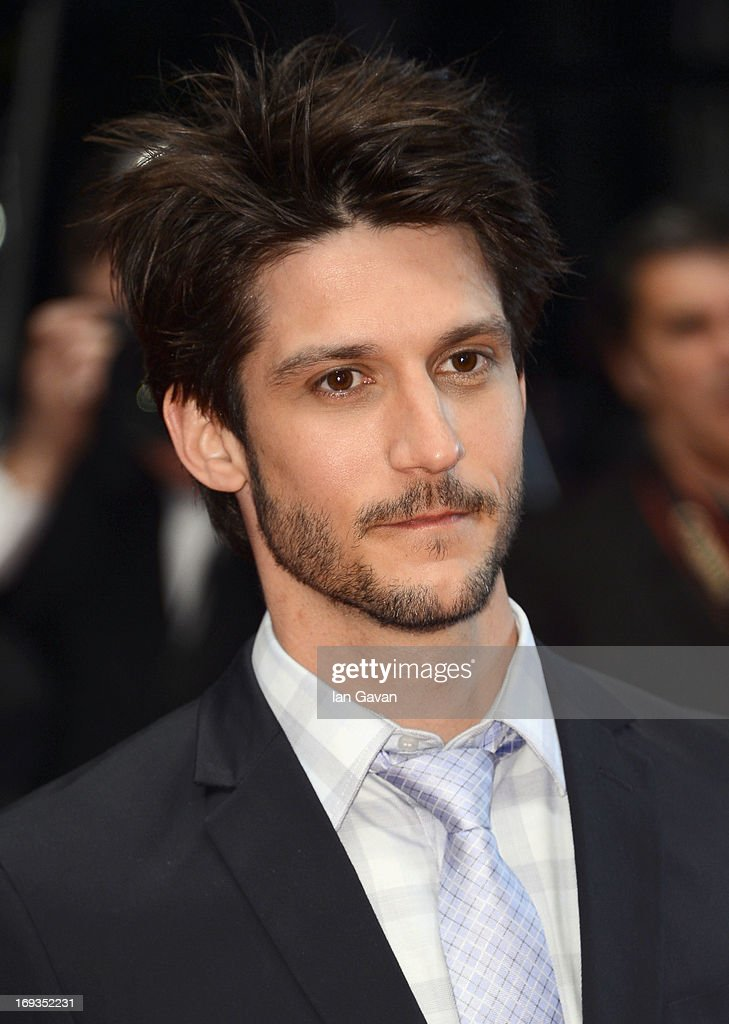 JeanSebastien Courchesne attend the 'Sarah Prefere La Course' premiere during The 66th Annual Cannes Film Festival at Palais des Festivals on May 23...