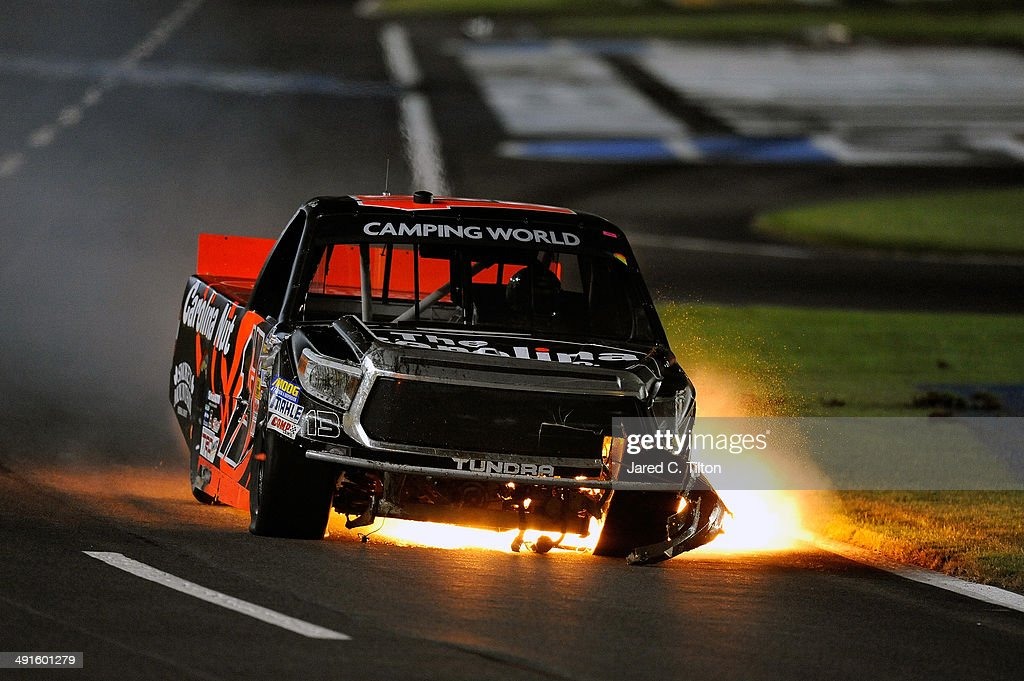 ... Charlotte Motor Speedway on May 16, 2014 in Charlotte, North Carolina