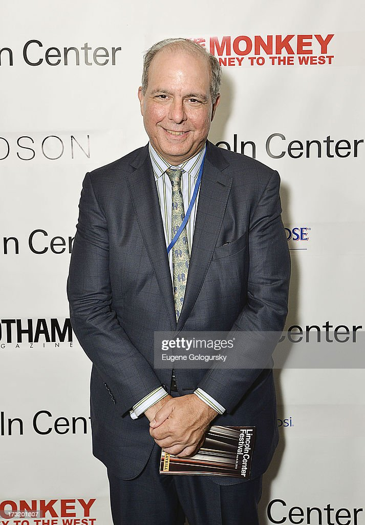 <a gi-track='captionPersonalityLinkClicked' href=/galleries/search?phrase=Jed+Bernstein&family=editorial&specificpeople=572480 ng-click='$event.stopPropagation()'>Jed Bernstein</a> attends the Lincoln Center Festival And Gotham Magazine Celebration of Monkey: Journey To The West at Hudson on July 9, 2013 in New York City.