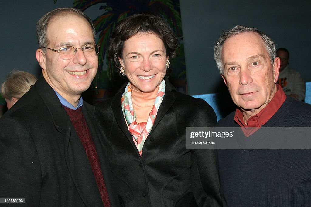New Year's 2006 in New York City - Mayor Bloomberg, Ray Kelly and Charles