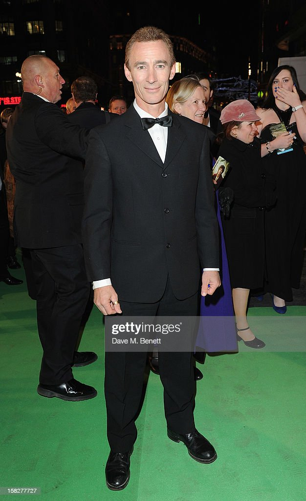 Jed Brofey attends the Royal Film Performance of 'The Hobbit: An Unexpected Journey' at Odeon Leicester Square on December 12, 2012 in London, England.