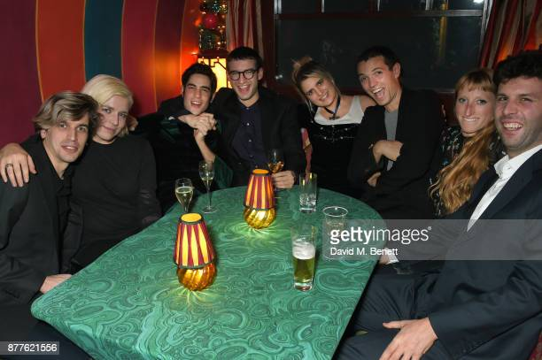 Jed Cullen Hanna Hanra Thomas Cohen Fred Macpherson Camille Benett Thomas Shickle Molly Goddard and Elliot Higgins attend the Nick Cave The Bad Seeds...