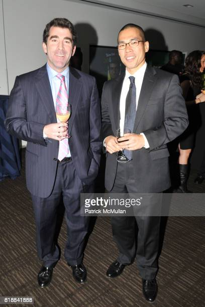 Jed Hartman and Alan Moy attend TIME INC Live and Unfiltered Presents ROUGH JUSTICE Hosted by FORTUNE at Time and Life Building Screening Room on...