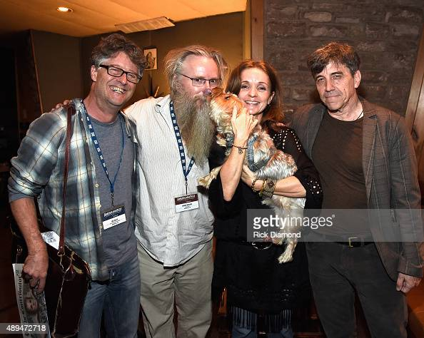 Jed Hilly Executive Director AMA David Macias President Thirty Tigers Singer/Songwriter Patty Griffin and Manager Roy Taylor at the 16th Annual...