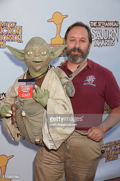 Jedi Master Yoda attends the 37th Annual Saturn Awards at The Castaway on June 23 2011 in Los Angeles California
