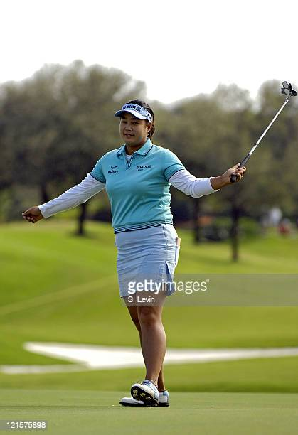 Jee Young Lee during the second round of the ADT Championship at the Trump International Golf Club in West Palm Beach Florida on Friday November 17...