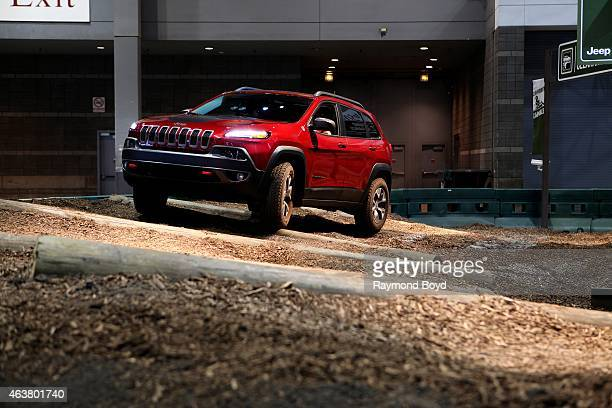 Jeep Cherokee at the 107th Annual Chicago Auto Show at McCormick Place in Chicago Illinois on FEBRUARY 13 2015