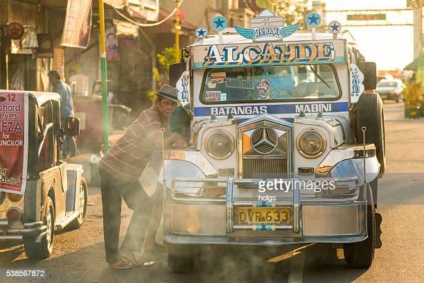 ジープで バタンガス,フィリピン