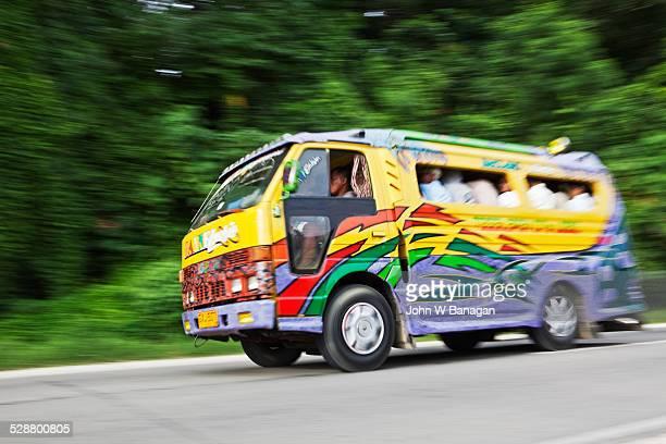 Jeepney bus. Bohol, Phillipines