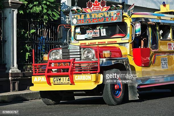 Jeepney bus. Cebu City, Phillipines