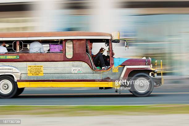 Jeepney on route