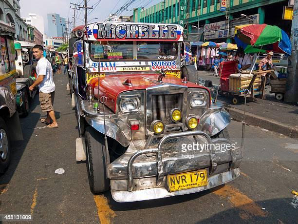 マニラのセントラル Jeepney の