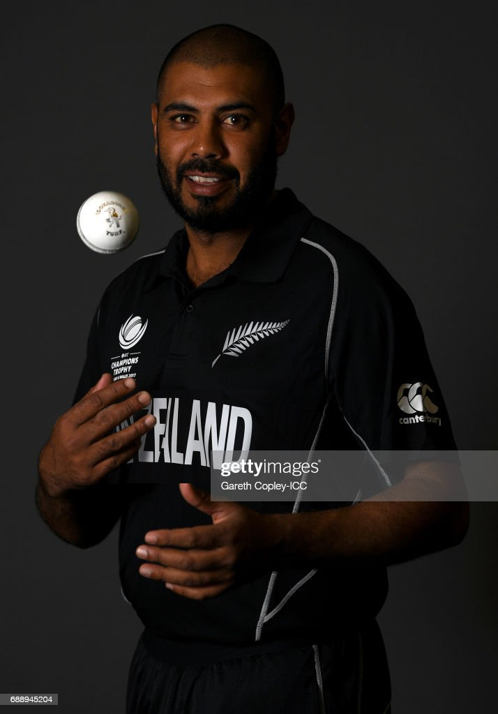 ICC Champions Trophy - New Zealand Portrait Session