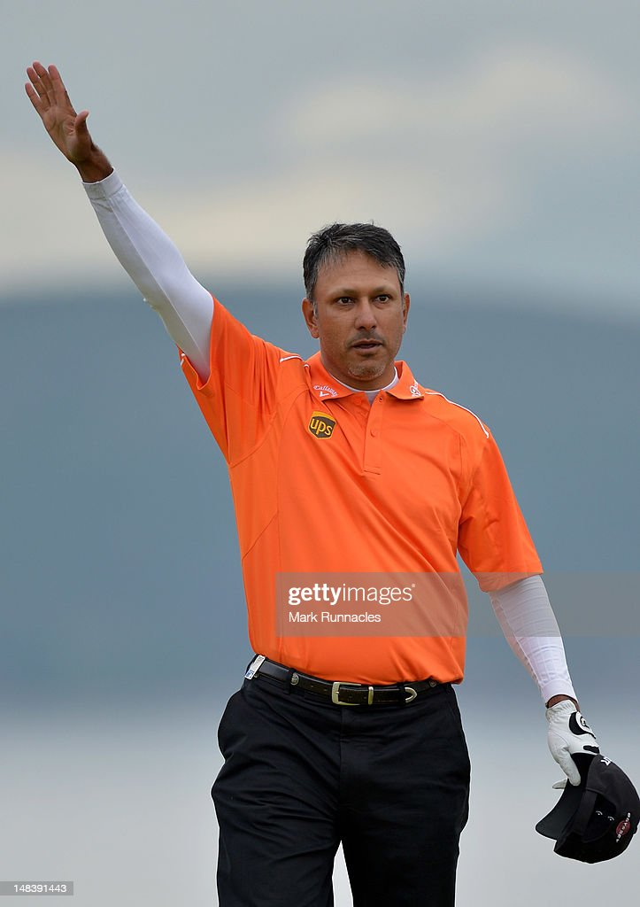 <a gi-track='captionPersonalityLinkClicked' href=/galleries/search?phrase=Jeev+Milkha+Singh&family=editorial&specificpeople=562393 ng-click='$event.stopPropagation()'>Jeev Milkha Singh</a> of India celebrates holing a putt for victory during a playoff against Francesco Molinari of Italy on the 18th green during the final round of the Aberdeen Asset Management Scottish Open at Castle Stuart Golf Links on July 15, 2012 in Inverness, Scotland.